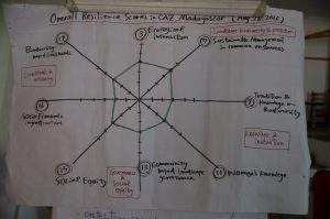 Output of the Training - Spider Web on the Resilience Evaluation of CAZ