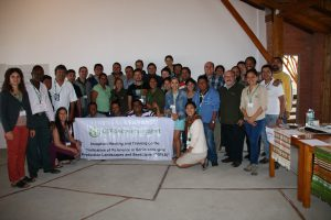 Group photo of Inception Meeting participants
