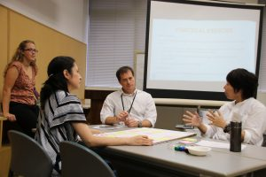 A group discussion during the workshop ©CI/Yoji Natori