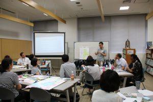 Presentation of group discussion outcomes ©CI/Yoji Natori